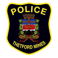 Badge Police de Thetford